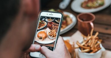 Find god mad på din mobil